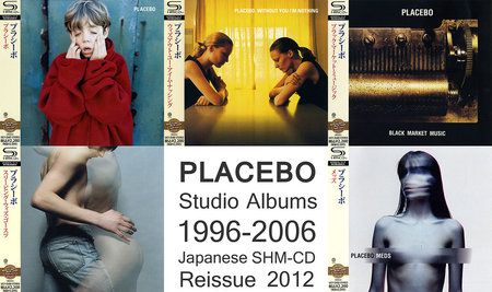 Placebo - Albums Collection 1996-2006 (5CD) [Japanese SHM-CD] Re-Up