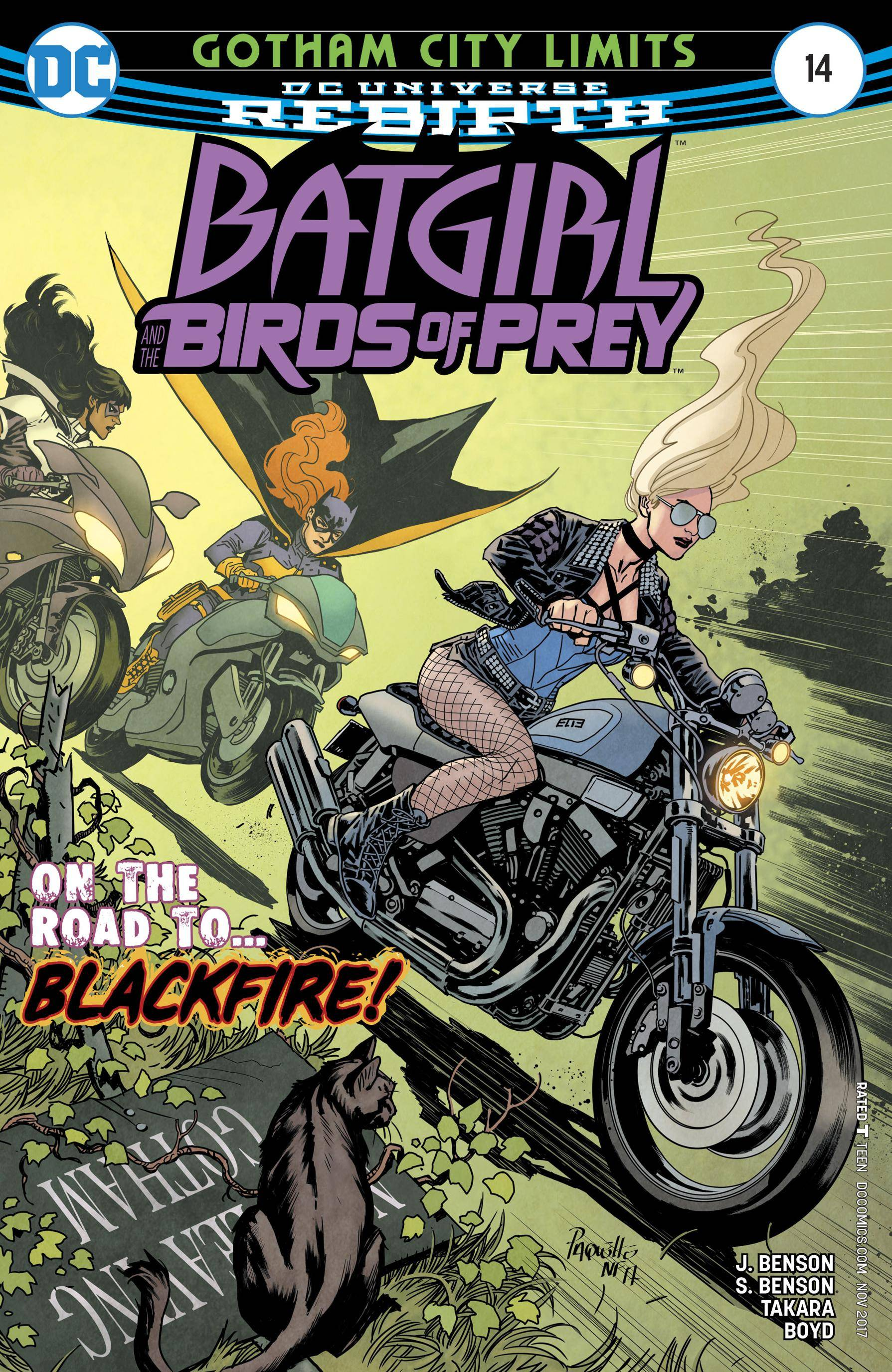Batgirl and the Birds of Prey 014 2017 2 covers Digital Zone-Empire