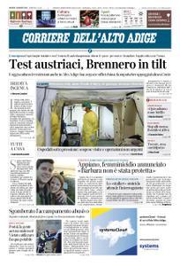 Corriere dell'Alto Adige – 12 marzo 2020