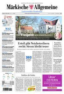 Märkische Allgemeine Luckenwalder Rundschau - 23. März 2018