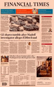Financial Times Europe – 16 August 2019