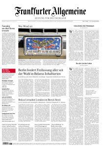 Frankfurter Allgemeine Zeitung - 8 September 2020