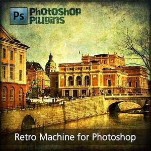 Retro Machine Volume 4 for Photoshop (With Presets)