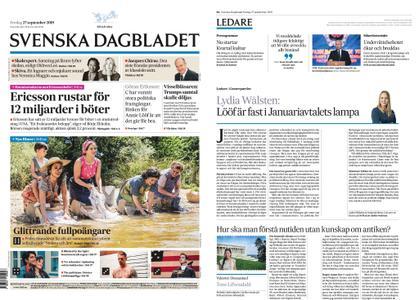 Svenska Dagbladet – 27 september 2019