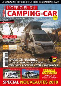 L'Officiel du camping-car - septembre 2017
