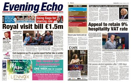 Evening Echo – October 04, 2018