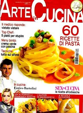 Arte in Cucina - Agosto 2011 - 60 Super Ricette di Pasta