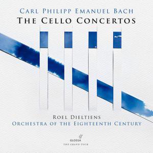 Roel Dieltiens & Orchestra of the 18th Century - C.P.E. Bach: Cello Concertos (2019) [Official Digital Download 24/88]