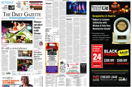The Daily Gazette – November 18, 2018