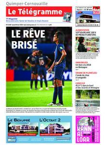 Le Télégramme Ouest Cornouaille – 29 juin 2019