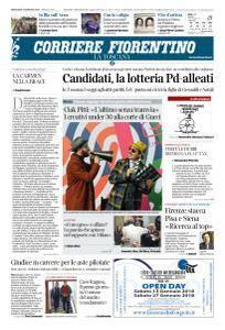 Corriere Fiorentino La Toscana - 10 Gennaio 2018