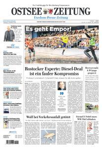 Ostsee Zeitung Wolgast - 08. Oktober 2018