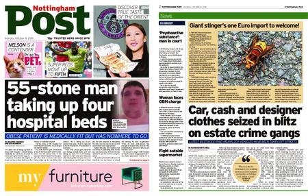 Nottingham Post – October 08, 2018