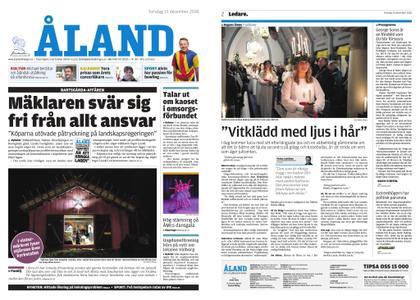 Ålandstidningen – 13 december 2018
