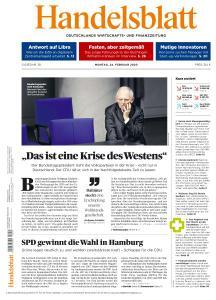 Handelsblatt - 24 Februar 2020