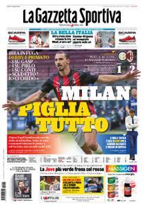 La Gazzetta dello Sport – 18 ottobre 2020