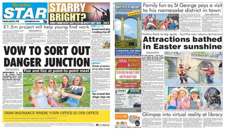 Shropshire Star Shrewsbury Edition – April 23, 2019