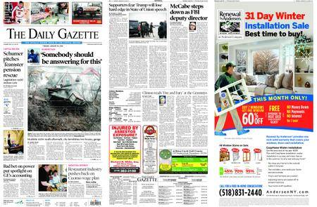 The Daily Gazette – January 30, 2018