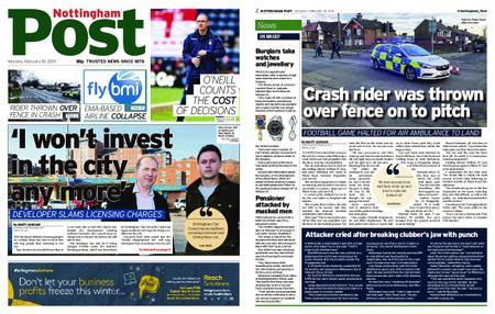 Nottingham Post – February 18, 2019