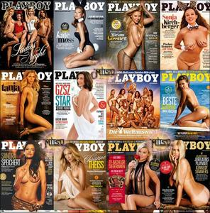 Playboy Germany - Full Year 2014 Issues Collection