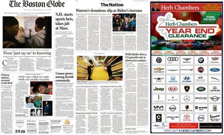 The Boston Globe – December 31, 2019