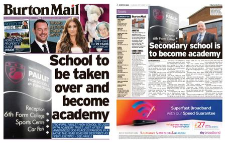 Burton Mail – September 12, 2019