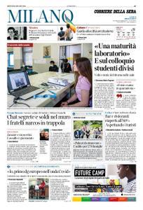 Corriere della Sera Milano – 18 giugno 2020