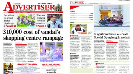 The Herts Advertiser – April 25, 2019
