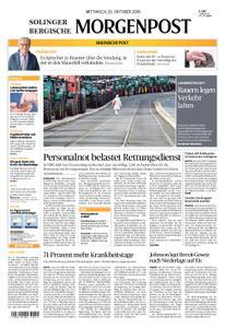 Solinger Morgenpost – 23. Oktober 2019