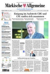 Märkische Allgemeine Luckenwalder Rundschau - 03. Juli 2018