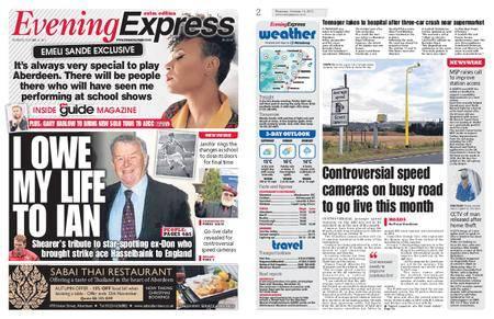 Evening Express – October 12, 2017