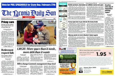 The Laconia Daily Sun – February 21, 2018