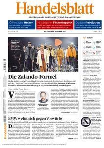 Handelsblatt - 06. Dezember 2017