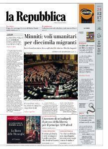 la Repubblica - 24 Dicembre 2017