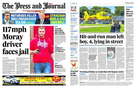 The Press and Journal Moray – October 13, 2017