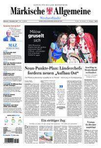 Märkische Allgemeine Westhavelländer - 01. November 2017