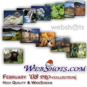 WebShots premium + wide screen content (February '08 collection)