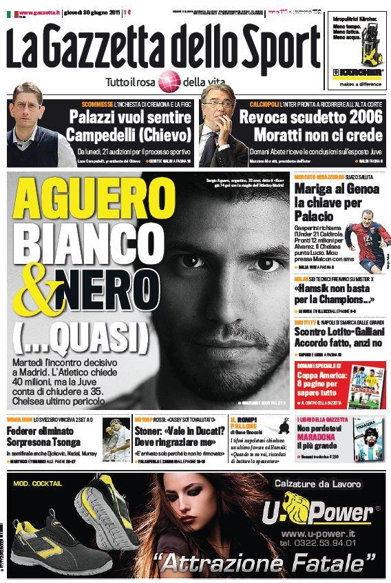 La Gazzetta dello Sport (30-06-11)