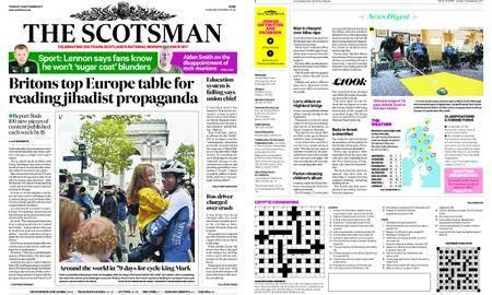 The Scotsman – September 19, 2017