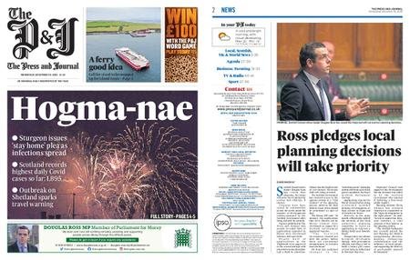 The Press and Journal Moray – December 30, 2020