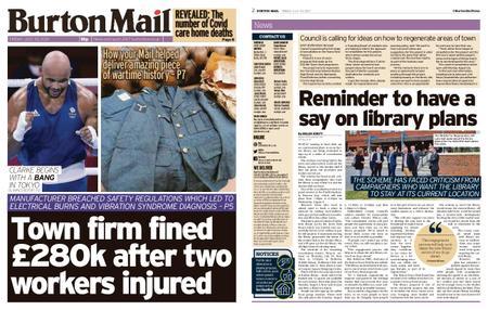Burton Mail – July 30, 2021