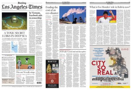 Los Angeles Times – October 25, 2020