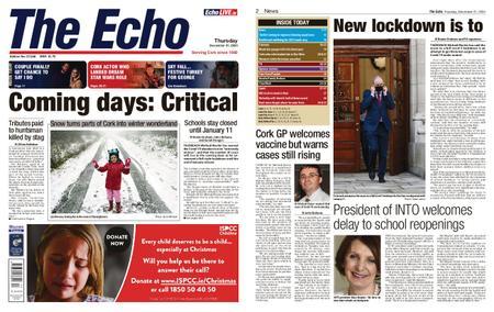Evening Echo – December 31, 2020