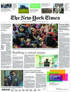 International New York Times - 03 February 2018