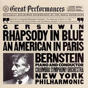Leonard Bernstein - Gershwin: Rhapsody In Blue/An American In Paris (1959) {198x} {CBS}