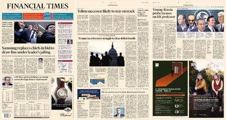 Financial Times Europe – 01 November 2017