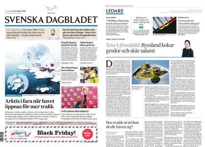 Svenska Dagbladet – 27 november 2018