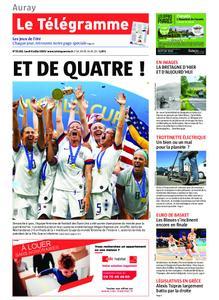 Le Télégramme Auray – 08 juillet 2019