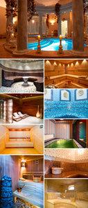 Stock Photo - Sauna Interior