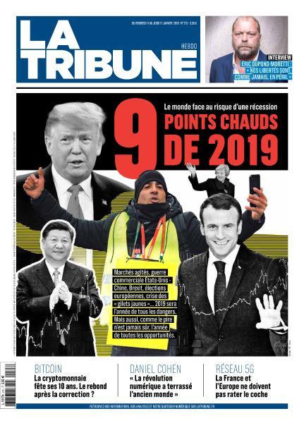 La Tribune - 11 Janvier 2019